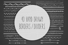 Hand Drawn Borders / Dividers