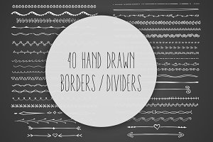 Hand Drawn Borders / Dividers