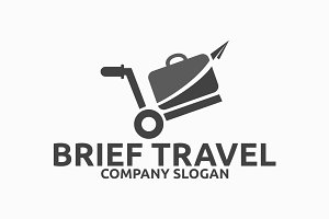 Brief Travel Logo