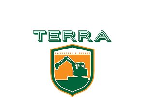 Terra Excavators and Movers Logo