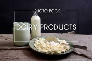 40 images of dairy products