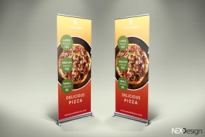 Pizza Roll-Up Banner - SK