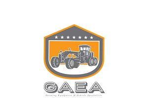 Gaea Heavy Equipments Logo