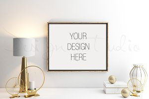 Styled Stock Photo, Frame mockup