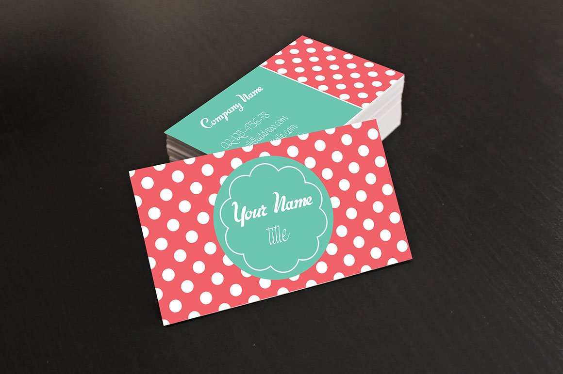 Candy Business Card ~ Business Card Templates ~ Creative Market