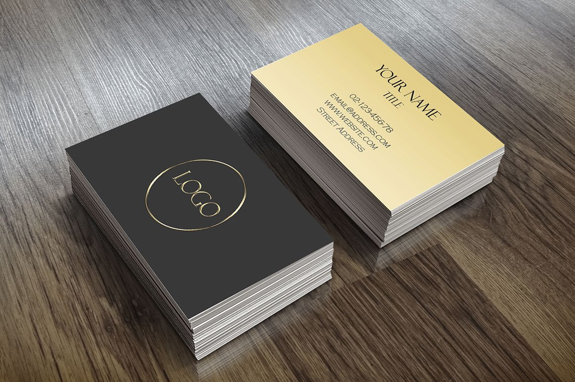 Elegant Business Card ~ Business Card Templates ~ Creative Market