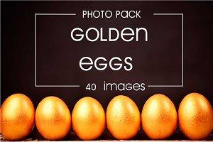 40 photos of golden eggs