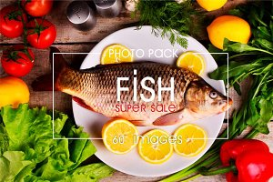 60 photos of fish • SUPER SALE!