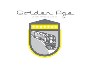 Golden Age Steam Powered Tours Logo