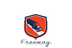 Freeway Priority Couriers Logo