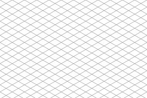 Isometric grid seamless pattern