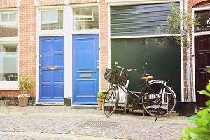 Bicycle on European Street