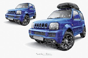 Japanese Off-road Mini SUV