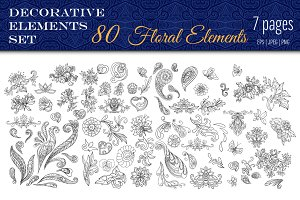 80 Decorative Elements