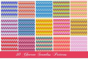 30 Chevron Seamless Patterns