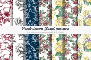 7 Flower patterns