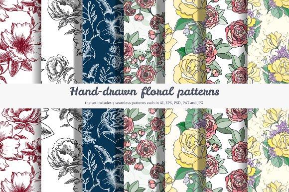 7 Flower patterns