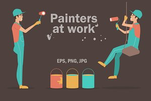 Painters at work