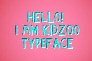 Kidzoo typeface