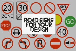 Traffic-Road Sign Collection