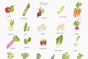 May Fruit and Vegetable