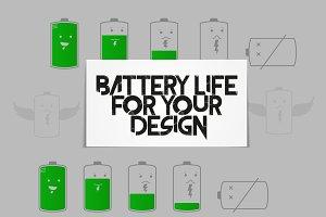 Battery life set