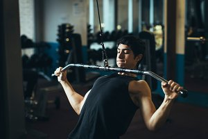 Young fitness boy