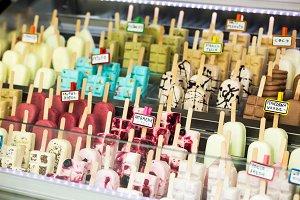 Summer Ice Cream sticks