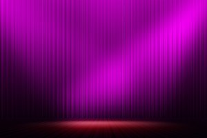 purple stage light