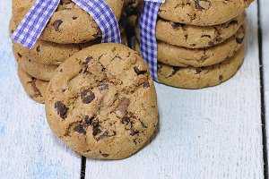 Chocolate chips.
