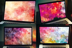 Abstract Crystall Backgrounds