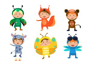 Kids in Animal Costumes
