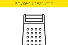 Grater icon. Vector
