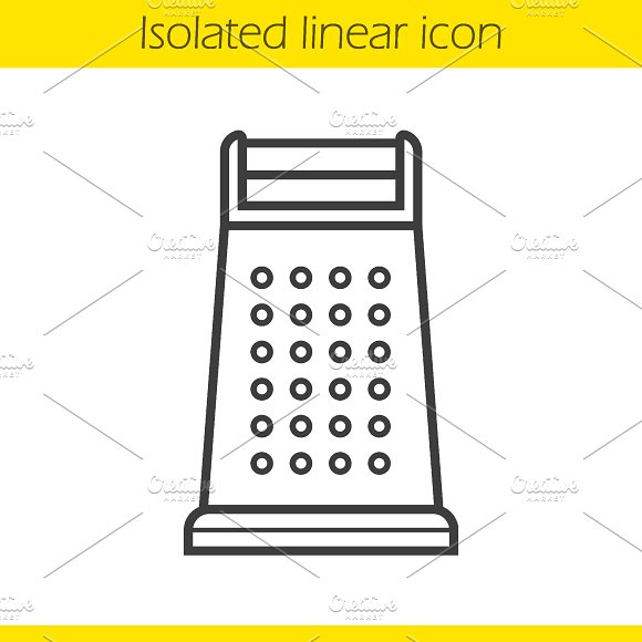 Grater icon. Vector - Icons