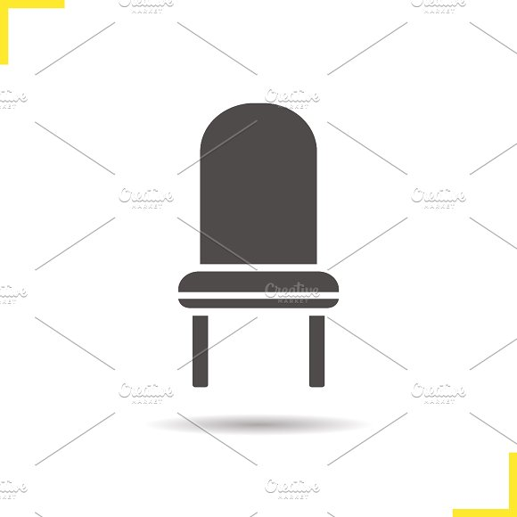 Chair icon. Vector - Icons