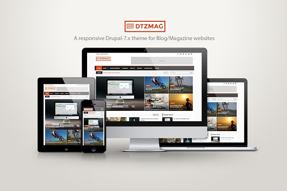 DTZMag - A Blog/Magazine/News theme