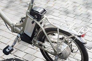 Battery Bike detail