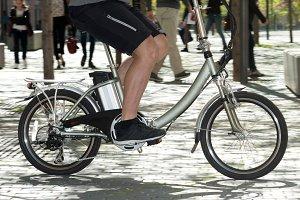 bike electric running