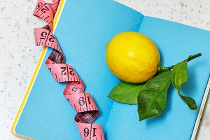 Slimming program. Lemon.