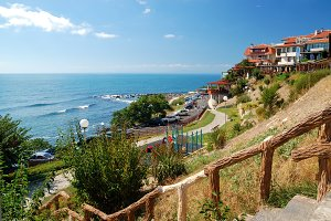 Black Sea Coast in Nessebar