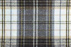 texture of fabric with plaid
