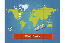 World touristic cruise