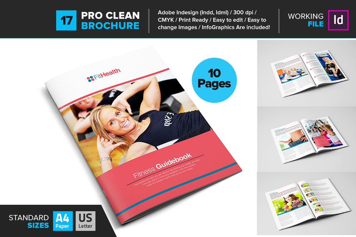 fitness brochure template – Fitness Brochure Template