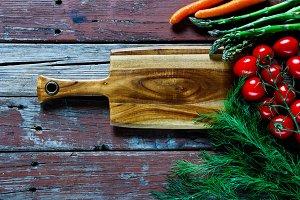 Raw vegetables various