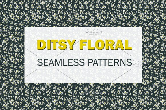 Ditsy floral.