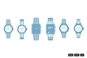 6 Watch Icon