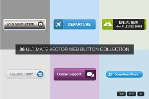 Ultimate Vector Web Button