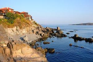Black Sea coast in Sozopol, Bulgaria