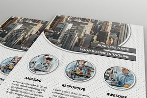 Business Flyer - 2 style layout