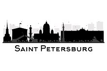 Saint Petersburg City skyline